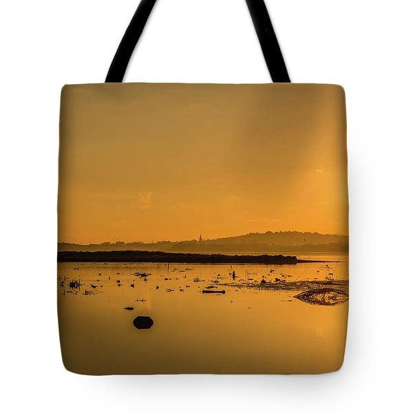 Saturday Morning Along The Estuary  Tote Bag by Martina Fagan