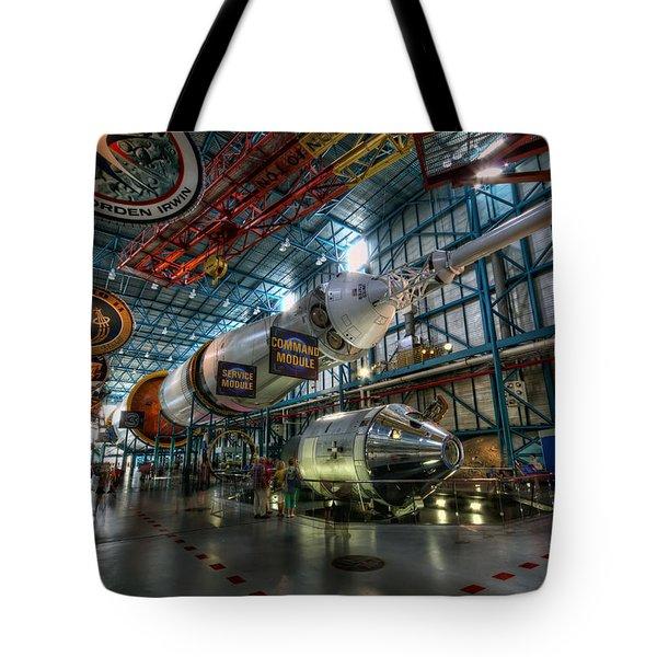 Saturn 5 Tote Bag