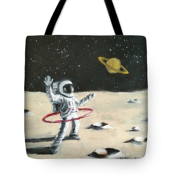 Saturn Ring Tote Bag