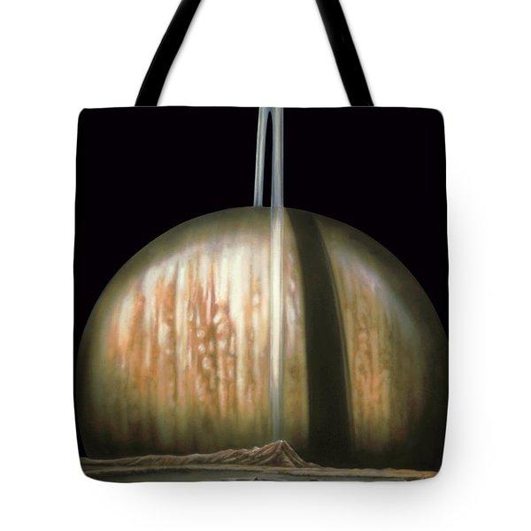 Saturn Rising Tote Bag