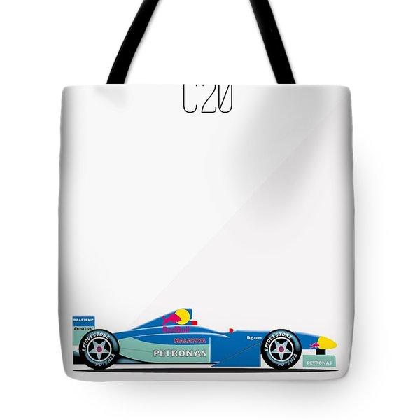 Sauber Petronas C20 F1 Poster Tote Bag