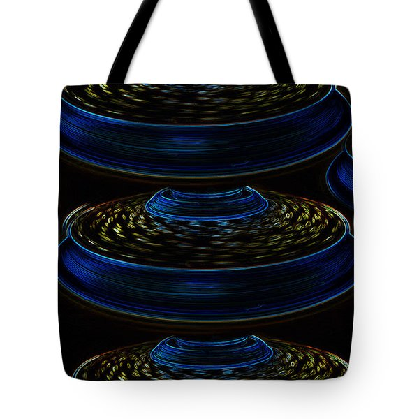 Saucers Tote Bag by David Lee Thompson