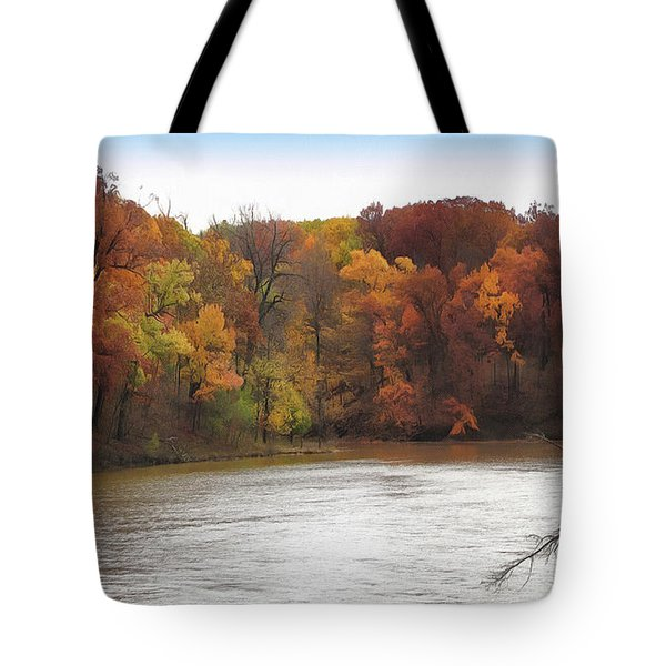 Sauk Lake Autumn Tote Bag