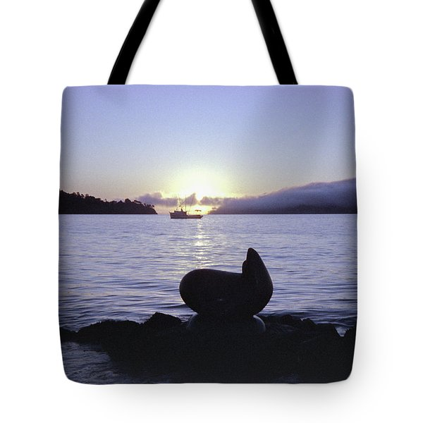 Sausalito Morning Tote Bag