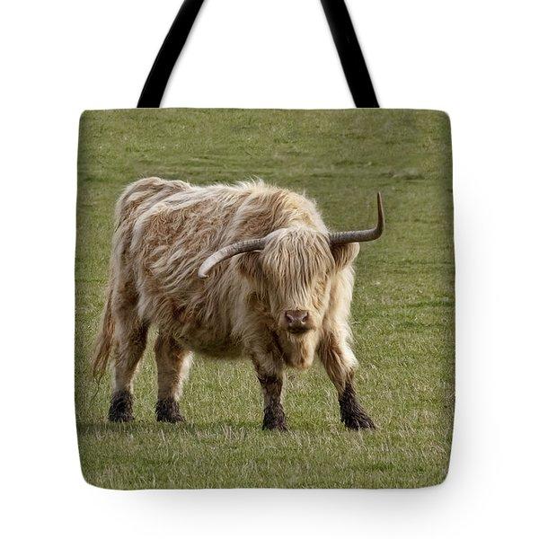 Sauvie Island Cow Tote Bag