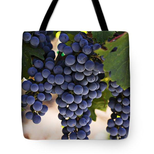 Sauvignon Grapes Tote Bag