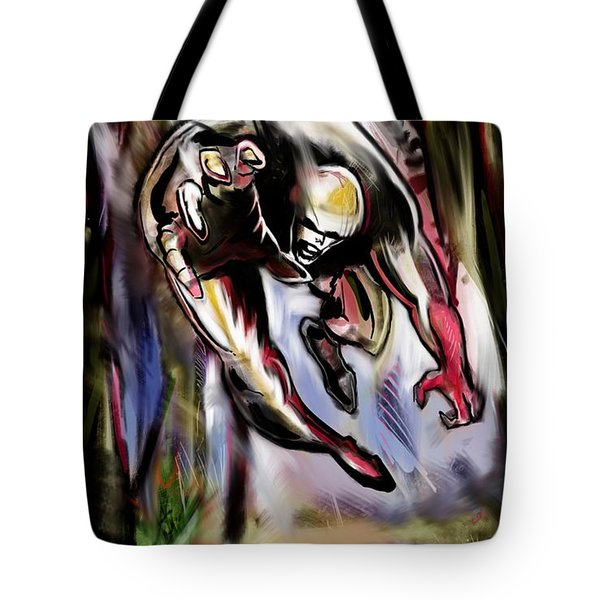 Savage Artist Looking For Brushes Tote Bag