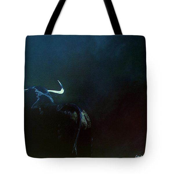 Savage Bull Tote Bag
