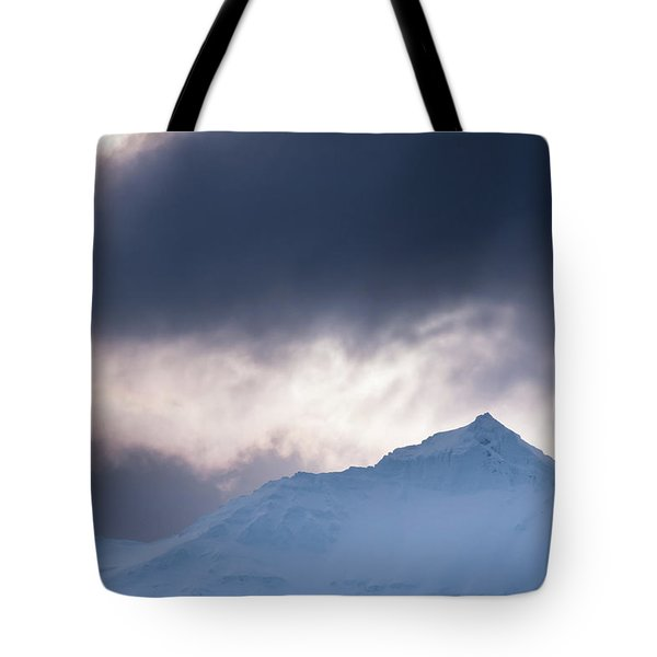 Savage Mountain Tote Bag