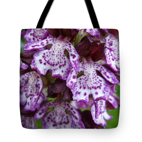 Savage Orchid 2 Tote Bag by Jean Bernard Roussilhe