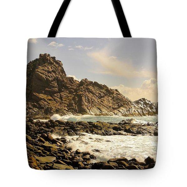 Savage Tote Bag by Oscar Moreno