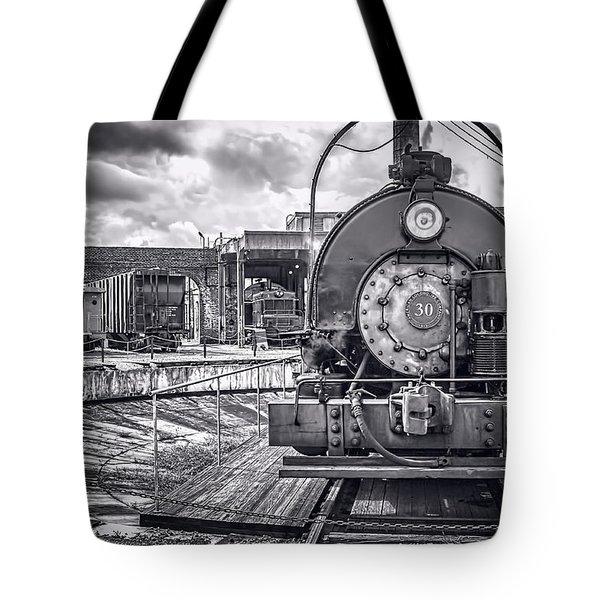 Savannah Central Train Yard Tote Bag