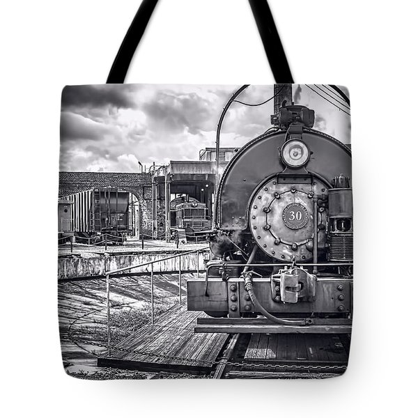 Savannah Central Train Yard Tote Bag