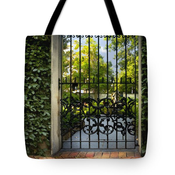 Savannah Gate II Tote Bag