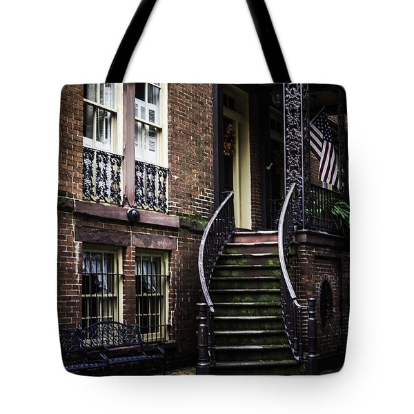 Tote Bag featuring the photograph Savannah by Judy Wolinsky