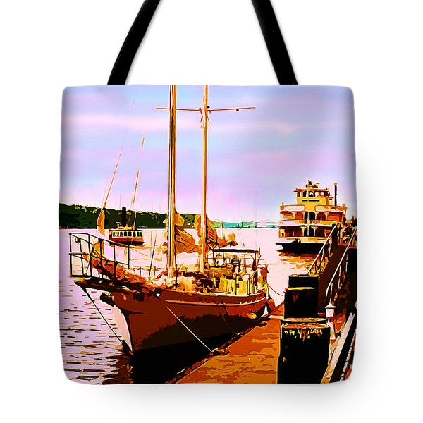 Savannah River Tote Bag