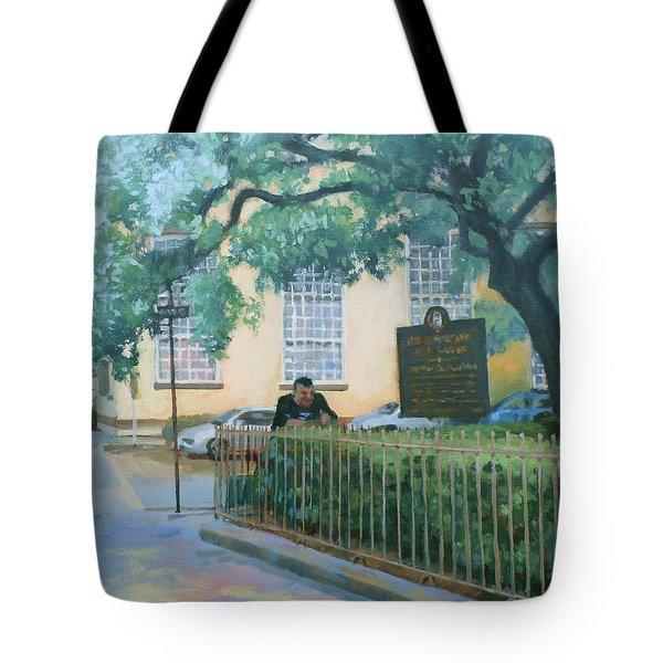 Savannah Shade Tote Bag by Carol Strickland