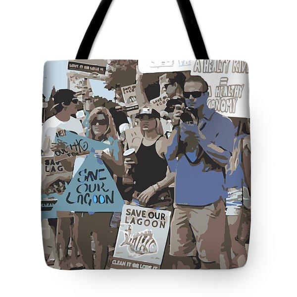 Save Our Lagoon Tote Bag