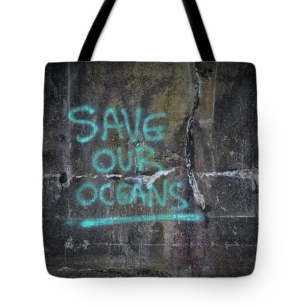 Save Our Oceans Tote Bag