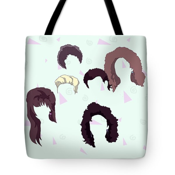Saved By The Hair Tote Bag
