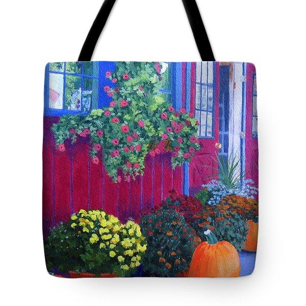 Savickis Market Tote Bag by Lynne Reichhart