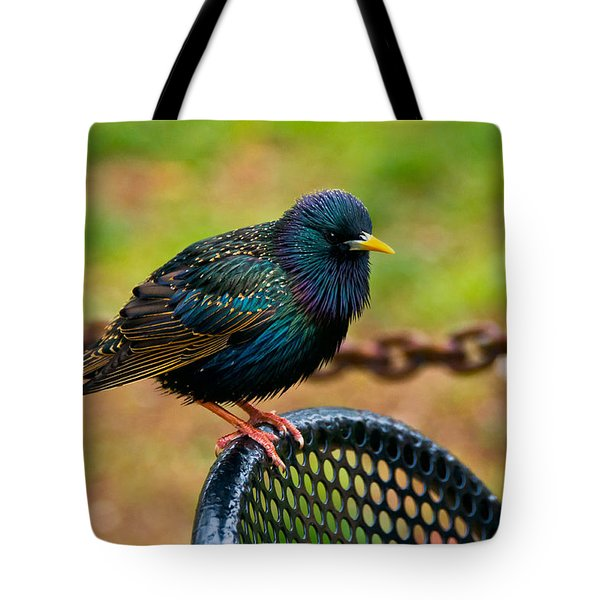 Saving A Seat Tote Bag by Christopher Holmes