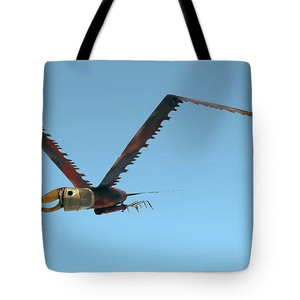 Saw Bird -raptor Tote Bag