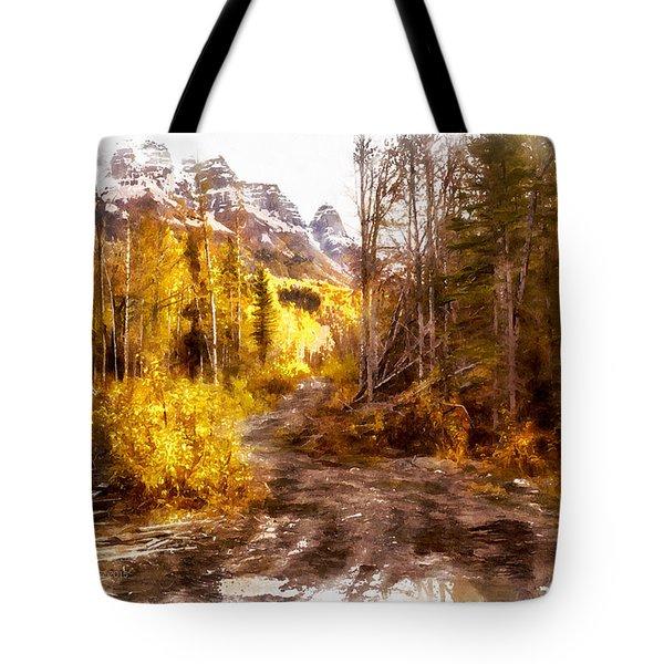 Sawmill Road Tote Bag
