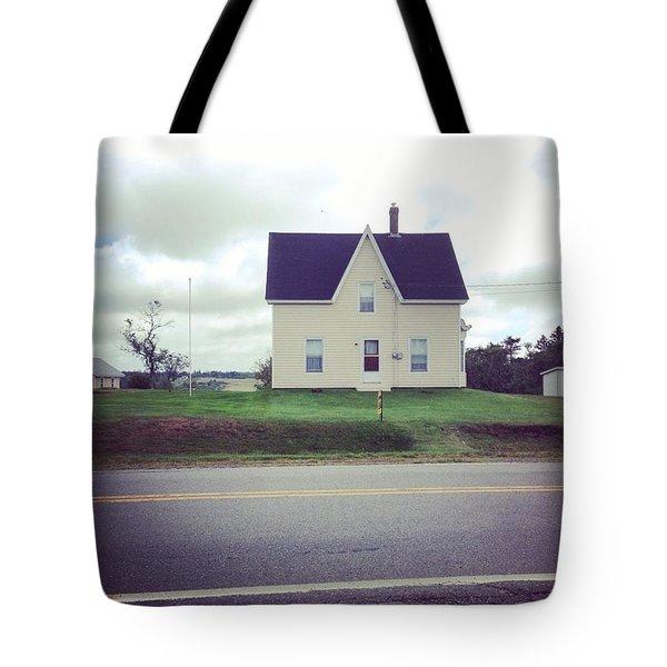Nova Scotia Gable Tote Bag