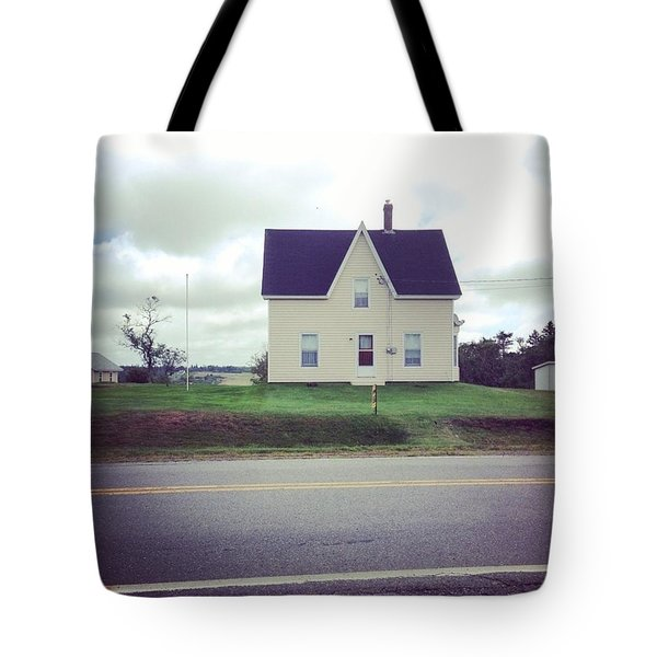 Nova Scotia Gable Tote Bag
