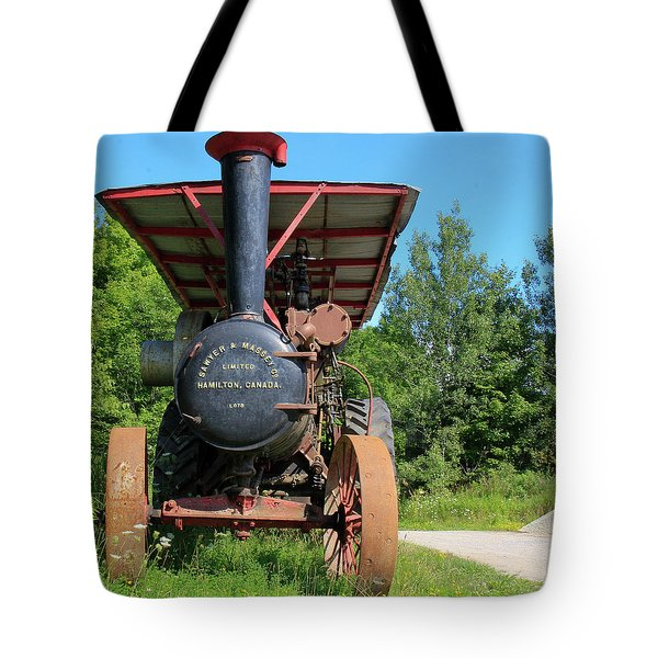 Sawer And Massey Company Tote Bag