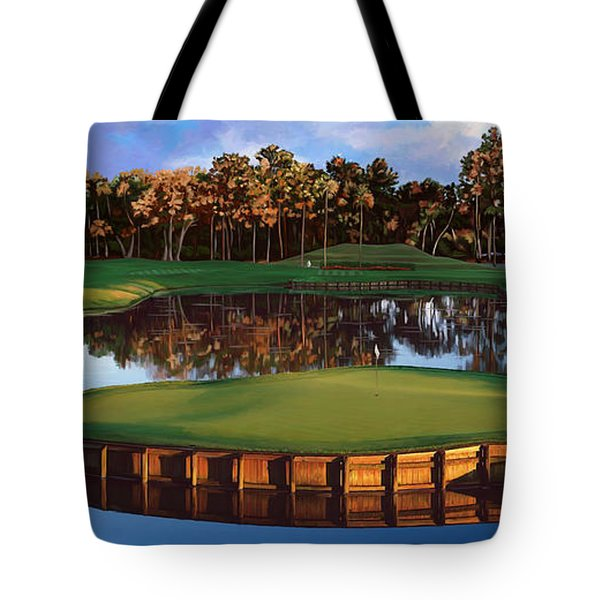 Sawgrass 17th Hole Hol Tote Bag