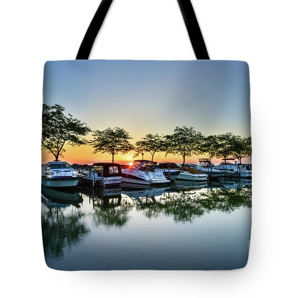 Sawmill Creek Morning Tote Bag