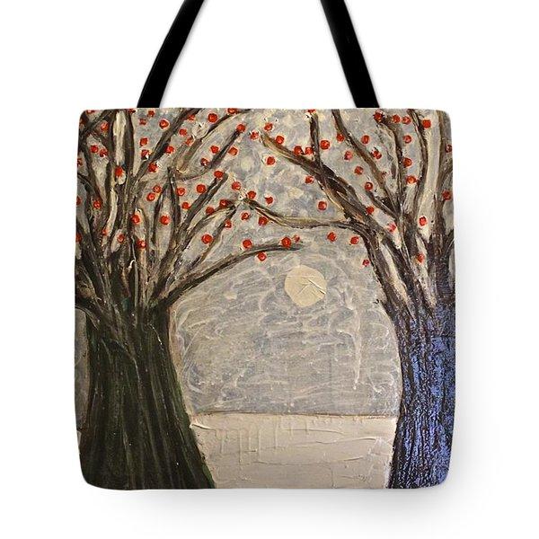 Sawsan's Trees Tote Bag