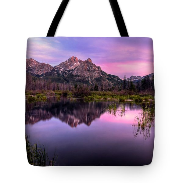Sawtooth Reflections Tote Bag