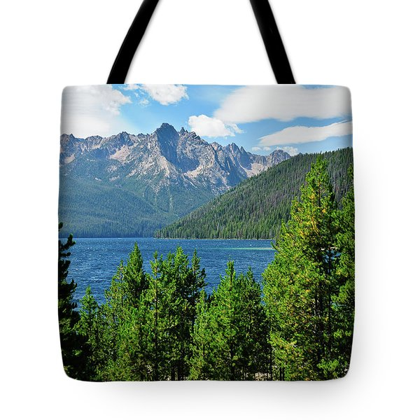 Sawtooth Serenity II Tote Bag by Greg Norrell