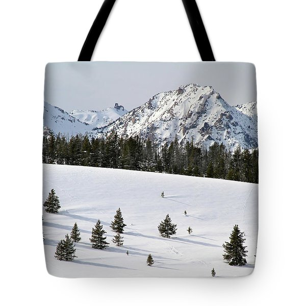 Sawtooth Wilderness Central Idaho Tote Bag
