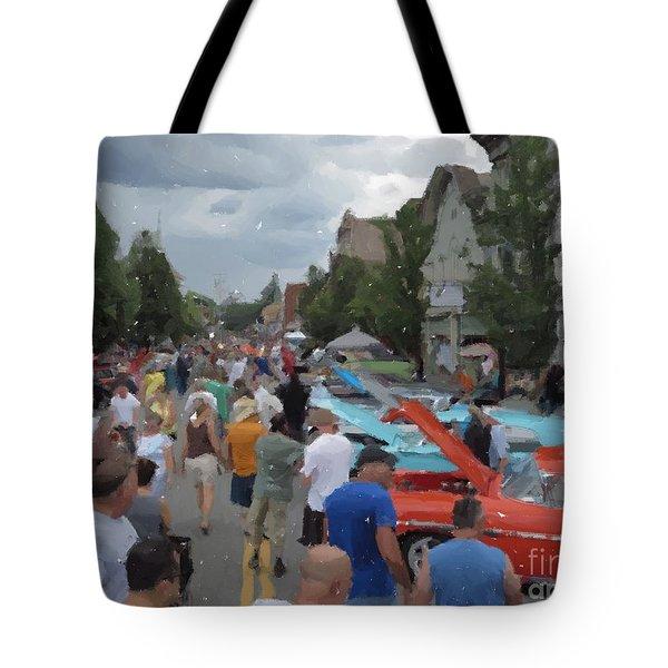 Sawyer's Car Show Tote Bag
