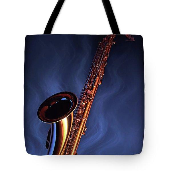 Sax Appeal Tote Bag