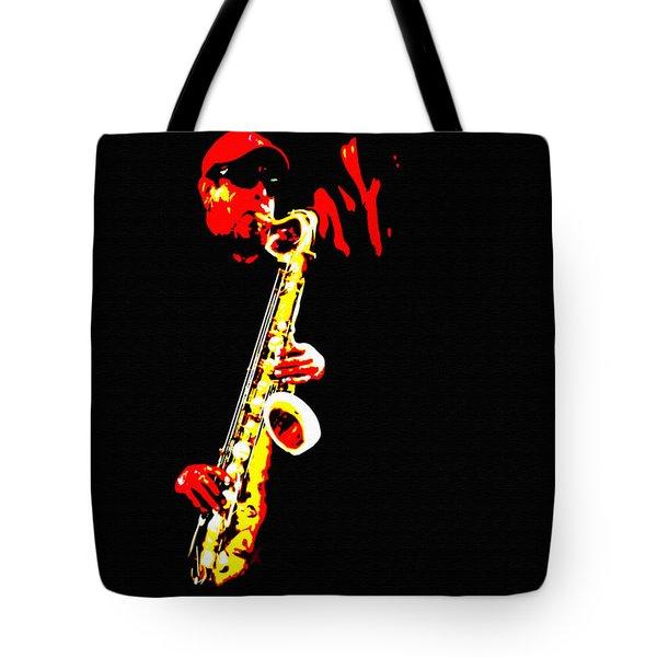 Sax Tribute Tote Bag