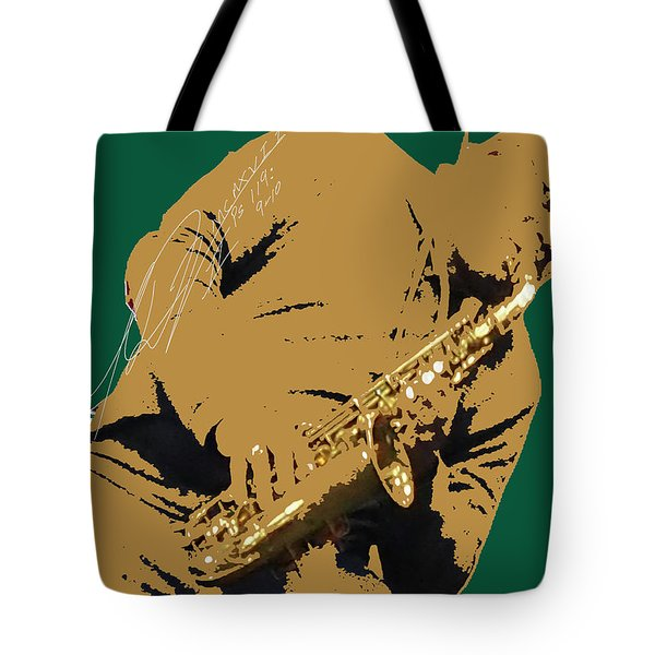 Saxual Passion Tote Bag