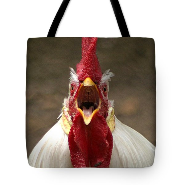 Say Ahh Tote Bag by Living Color Photography Lorraine Lynch