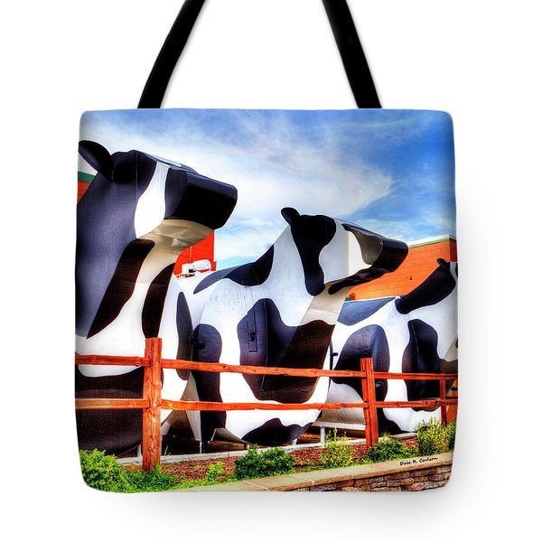 Say Cheese Tote Bag by Dale R Carlson