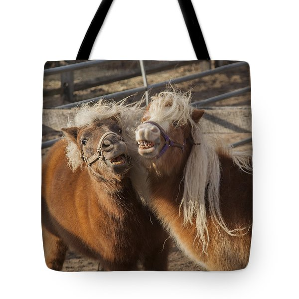 Say Cheese Tote Bag by Steve Gravano
