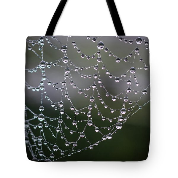 Say It With Pearls Tote Bag