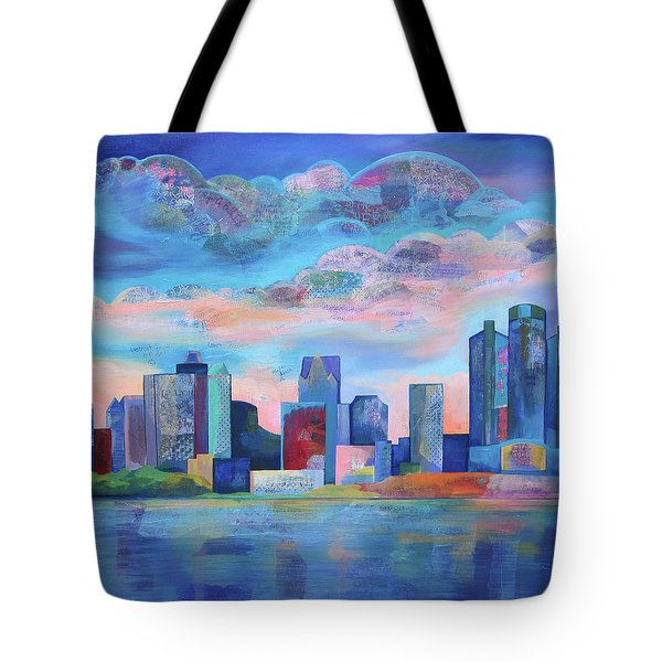 Say Nice Things About Detroit Tote Bag
