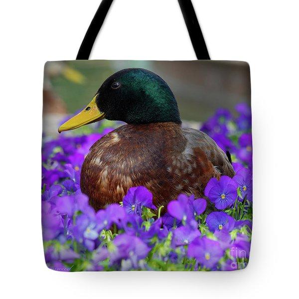 Say Quack Tote Bag