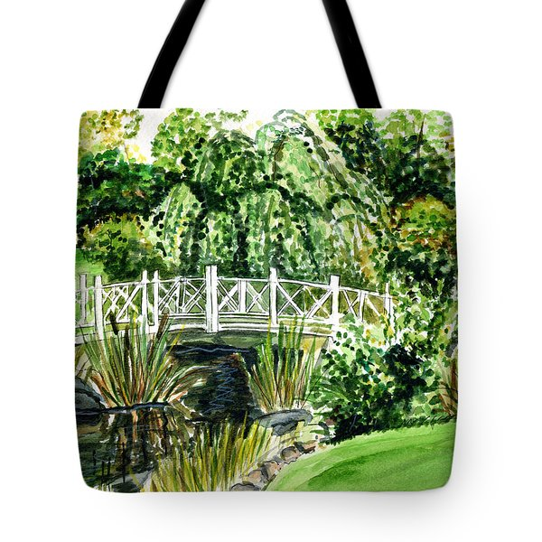 Sayen Bridge Tote Bag
