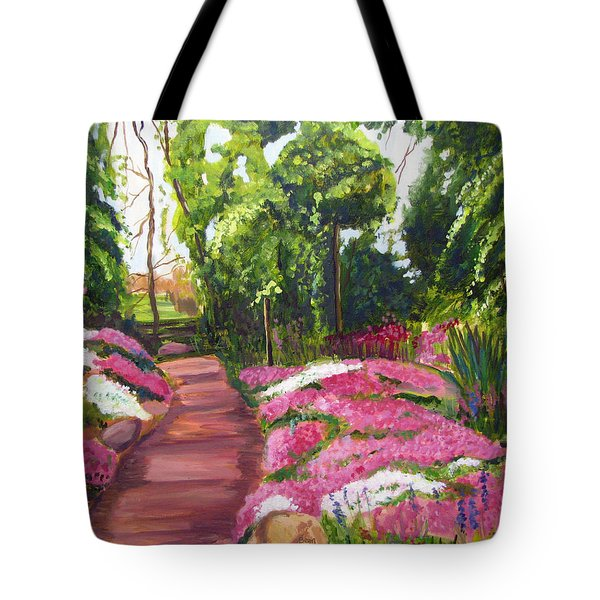 Sayen Path Tote Bag