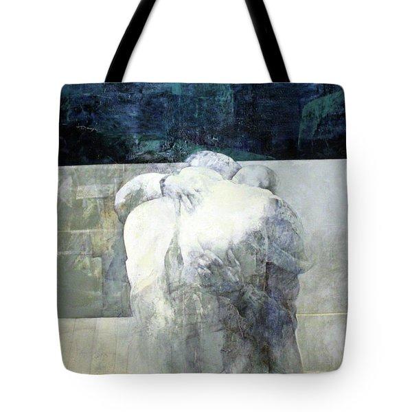 Saying Goodbye Tote Bag by Munir Alawi